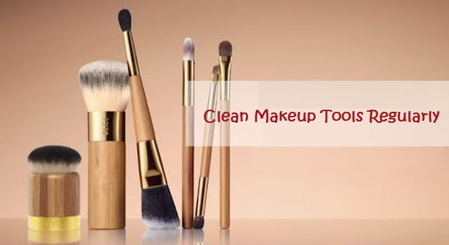 Clean Makeup Tools Regularly1